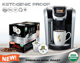 Sollo Dark Roast Ketogenic Proof Coffee Pods For Keurig
