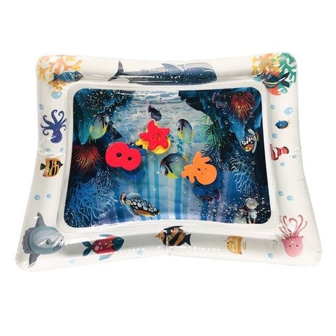 Image of BLUE-INSPIRE™ Inflatable Play Mat