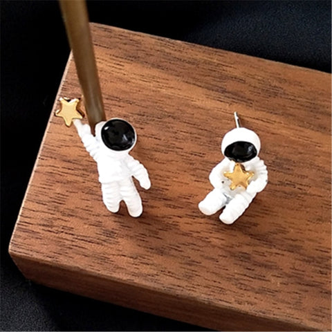 Image of Astronaut Earrings