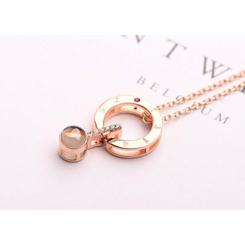 "Image of 100 Languages ""I LOVE YOU"" Necklace"