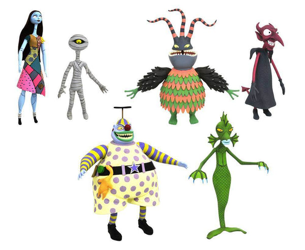 Nightmare Before Christmas Action Figures 2-Pack (4098548629601)