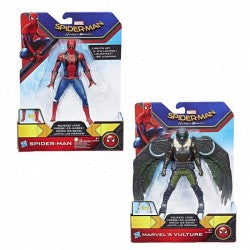 SPIDERMAN HOMECOMING PERSONAGGI 15CM DELUXE CON AZIONI HASBRO (3948054610017)