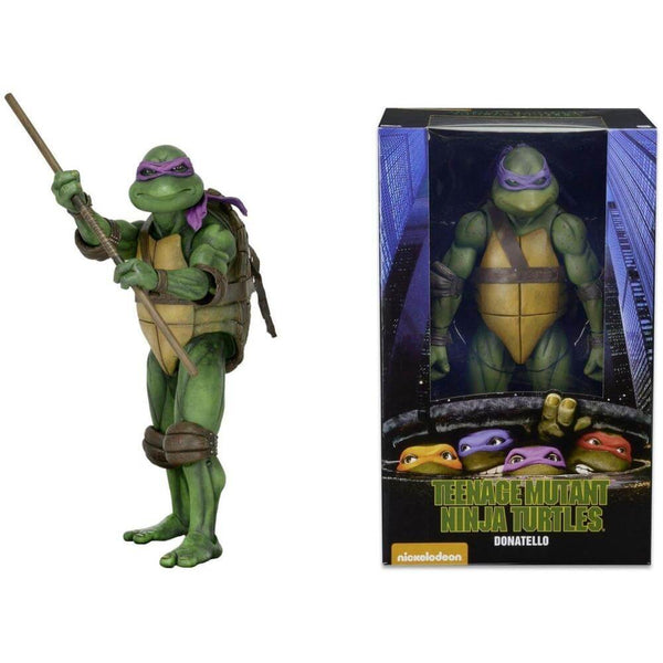 Action Figure TMNT Nnja Turtles NECA 1990 Donatello 54076 #Personaggio_Donatello 54076 (4112564519009)