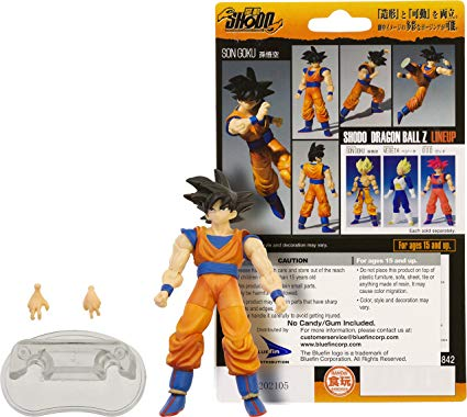 Son Goku Mini Action Figure 7cm Dragon Ball Z Shodo
