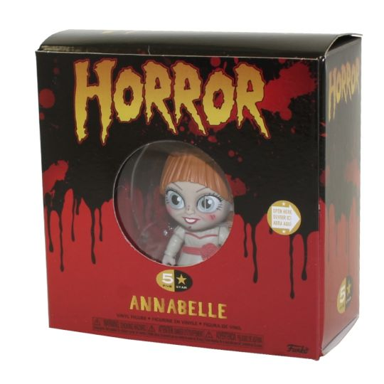 Annabelle The Conjuring Funko Pop 5 Star Horror Serie con accessori 9cm (3948435701857)
