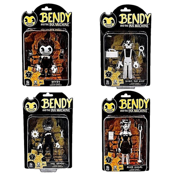 Bendy and the Ink Machine Action Figures Personaggi 13 cm (3948058247265)