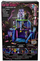 MONSTER HIGH BJR18 PLAYSET LE CATACOMBE CASA DELLE BAMBOLE FREAKY FUSION (3948069847137)