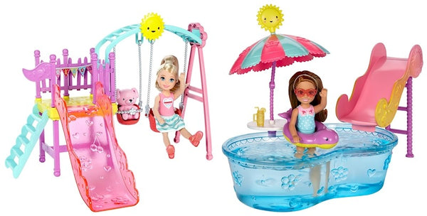 BARBIE CHELSEA CLUB PLAYSET ACCESSORI MATTEL DWJ45 (3948253806689)