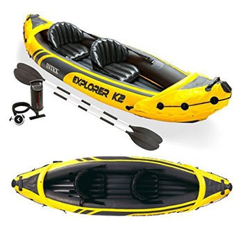CANOA 2 POSTI EXPLORER INTEX 68307NP (3948109758561)