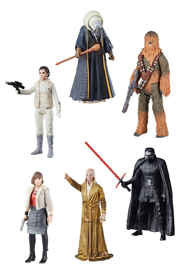 Star Wars Action Figures Force Link 2.0 10cm Hasbro 2018 (3948057788513)
