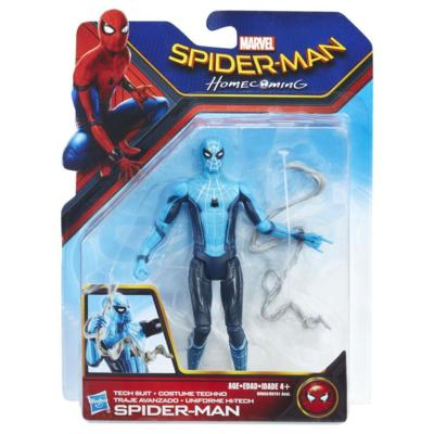 SPIDERMAN HOMECOMING ACTION FIGURES 15CM PERSONAGGI GIOCATTOLO HASBRO (3948054511713)