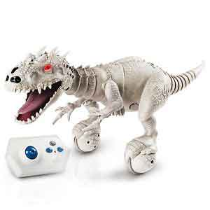 INDOMINUS REX RC SPINMASTER JURASSIC WORLD DINO ZOOMER ROBOT GIOCATTOLO
