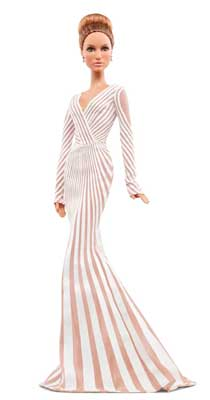 BARBIE COLLECTOR JENNIFER LOPEZ RED CARPET X8287 BAMBOLA MATTEL (3948098027617)