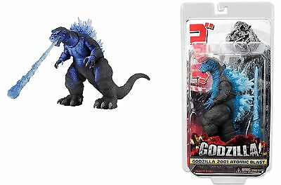 Godzilla 2001 Atomic Blast Action Figure 18cm Head to Tail 30cm NECA 42883 (3945213296737)