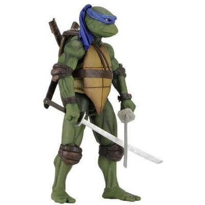 Action Figure TMNT Nnja Turtles NECA 1990 Leonardo 54073 #Personaggio_Leonardo 54073 (4112564519009)