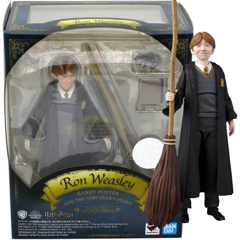 SH Figuarts Action Figure Bandai Tamashii Harry Potter Ron Weasley