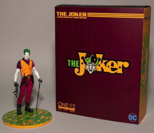 The Joker Clown Prince of Crime Edition Action Figure Mezco One 1/12  DC Comics 17 cm