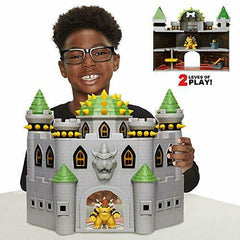 Castello Deluxe Bowser Super Mario World of Nintendo Super Mario Playset Castle