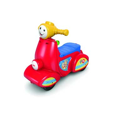FISHER PRICE CGT08 LO SCOOTER DEL CAGNOLINO CAVALCABILE BAMBINO (3948090654817)