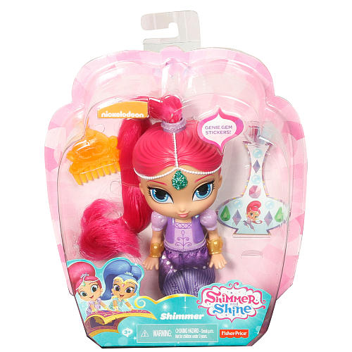 SHIMMER AND SHINE BAMBOLE 15CM CON ACCESSORI MATTEL (3948050776161)