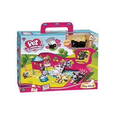 PET PARADE PLAY WORLD PLAYSET CANE GIOCATTOLO