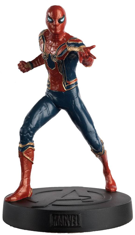 Iron Spider Man   Eaglemoss Modellino Action Figures Resina 14cm Marvel Movie 1/16 (3948431081569)