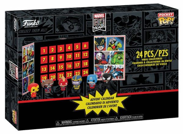 Calendario Avvento Marvel Supereroi 2019 Funko POP Edizione Limitata (3948475220065)