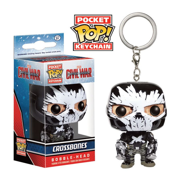 Crossbones Pocket POP Portachiavi 4 cm (3948476268641)