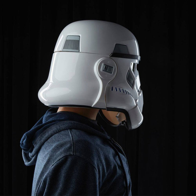 Elmo Elettronico Stormtrooper Imperiale cambia Voce Star Wars Rogue One Black Series Helmet Hasbro (4213263368289)