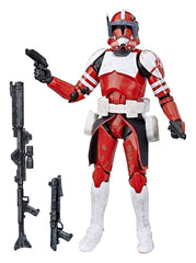 Comandate Fox Exclusive Star Wars The Clone Wars Black Series Action Figure 15 cm