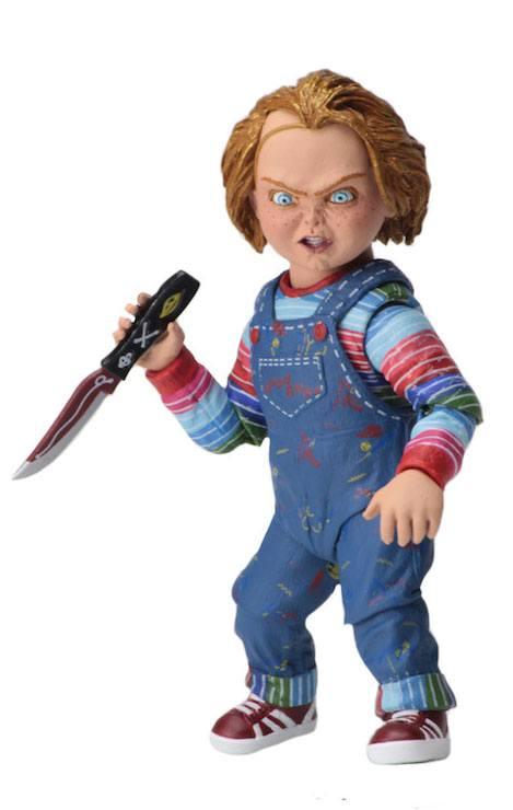 Chucky Ultimate 10cm Action figures La Bambola Assassina NECA (3948425052257)
