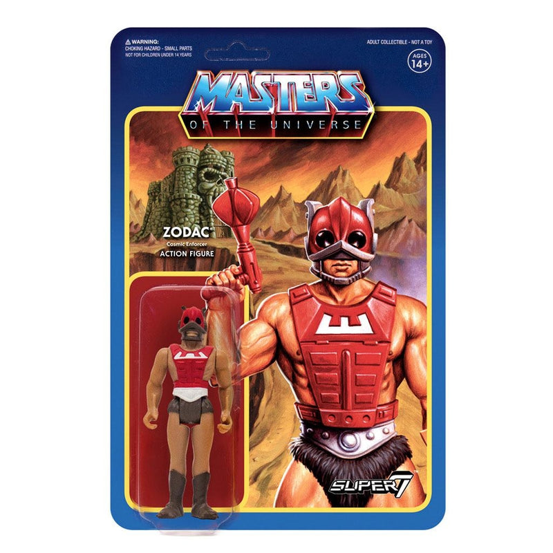 Masters of the Universe ReAction Action Figures 10 cm Wave 3 Personaggi Articolati