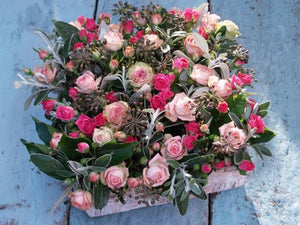 Spray Rose Basket