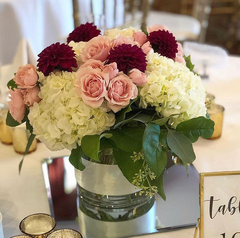 Blush Wedding Arrangement