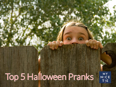 Halloween pranks for necktie lovers