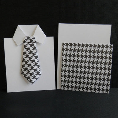 Origami Necktie Greeting Card Kit