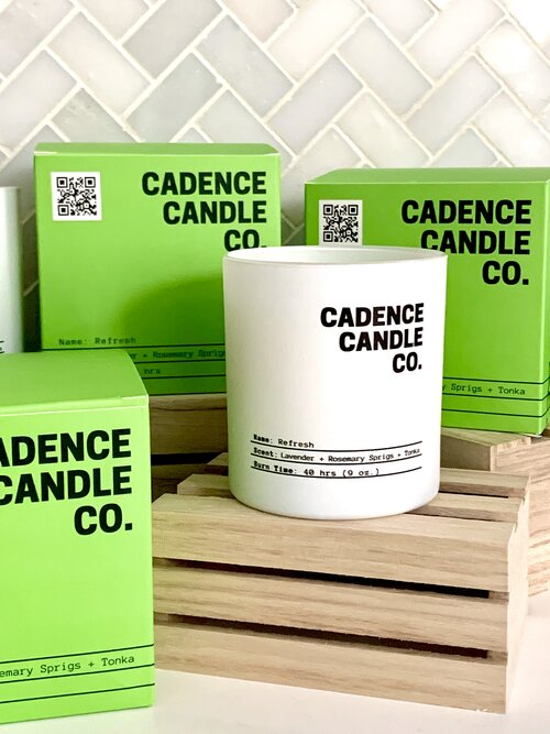 Cadence Candles Refresh (Lavender + Rosemary Sprigs + Tonka)