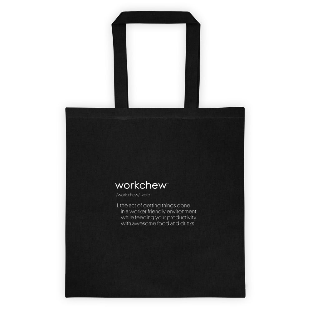 WorkChew Definition Tote