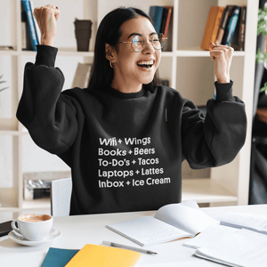 Work + Food Sweatshirt