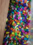 Color pebbles