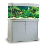 RS100B AQUARIUM SET (SIZE 100X40X60  CM) BLACK