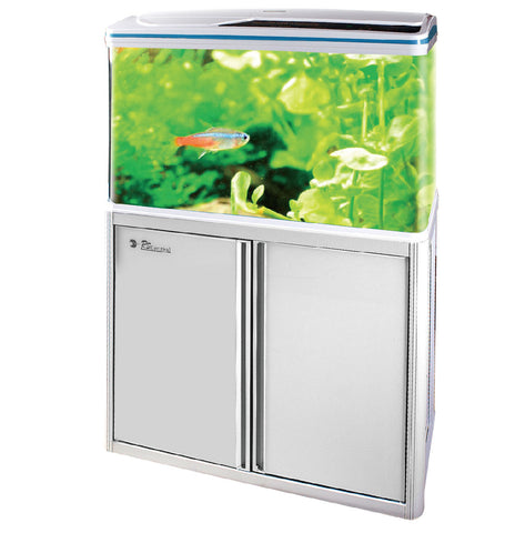 RS800EF AQUARIUM ONLY (SIZE 80X36X75  CM) BLACK,WHITE