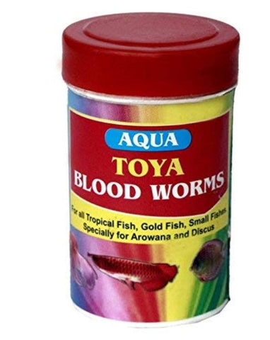 Toya Blood Worms Fish Food (10 g)