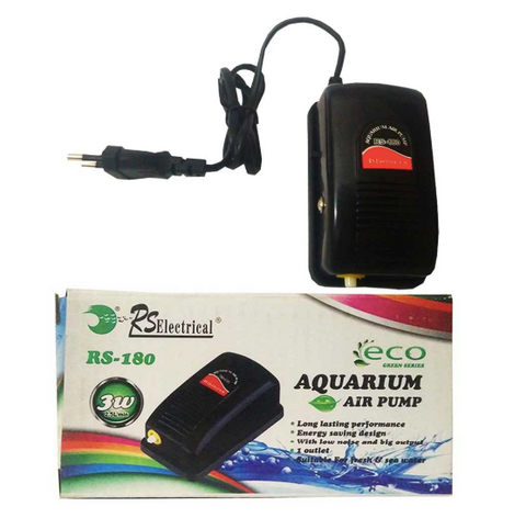 RS Electricals RS-180 Aquarium Air Pump