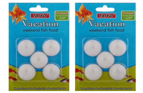 Taiyo Weekend Holiday Fish Food  (Pack 2)