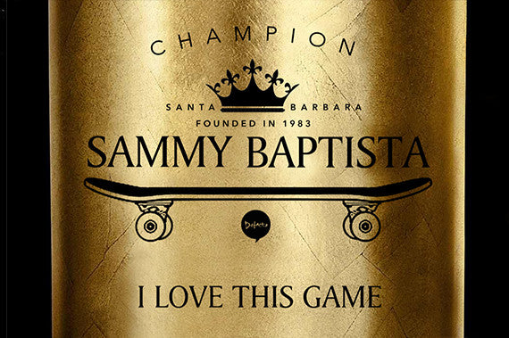Defacto + Sammy Baptista = I Love This Game Board
