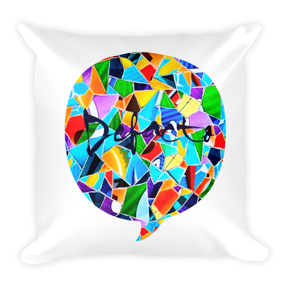 Defacto Mosaic Square Pillow