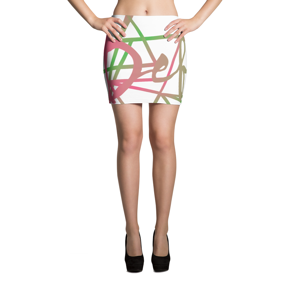Defacto Merkabah Mini Skirt