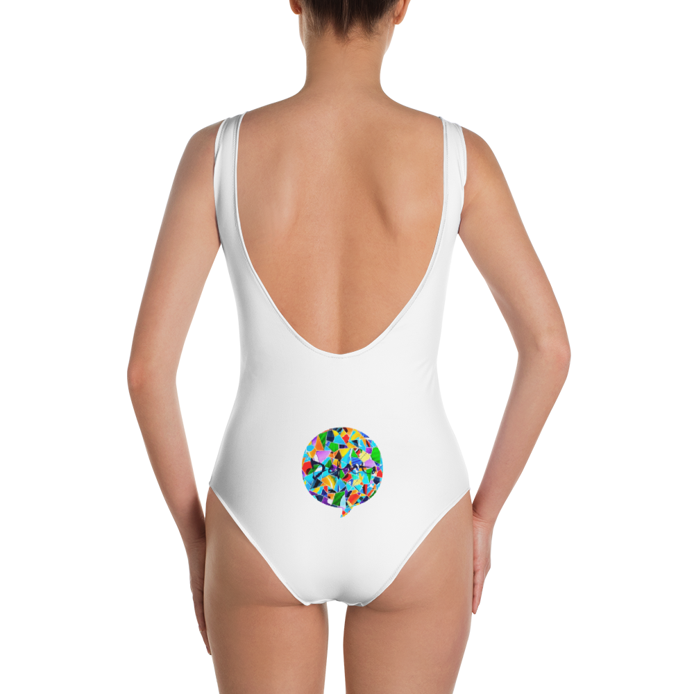 Defacto Mosaic One-Piece Swimsuit
