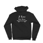 Defacto + Sammy Baptista =  I Love This Game Hoodie